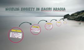 muslim society in saudi arabia