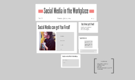 Social Media in the Wokrplace
