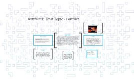 Artifact 1:  Unit Topic - Conflict