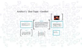 Artifact 1:  Unit Topic - Conflict