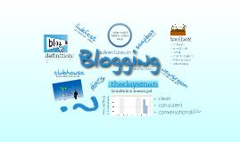 Copy of adventures in blogging