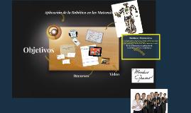Copy of    Aplicacion de la Robotica en las matematicas