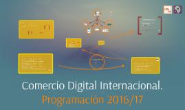 Copy of Comercio Digital Internacional