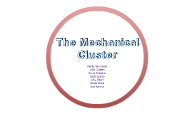 The Mechanical Cluster of Delcastle Vo-tech