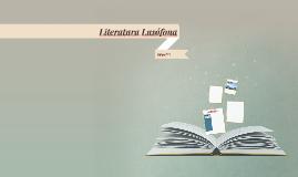 Literatura Lusófona