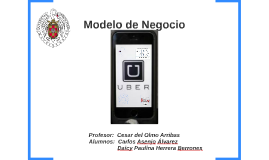 Copy of Modelo de Negocio de Uber