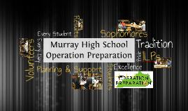 MHS - Operation Preparation