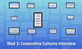 Corporative cultures: interview