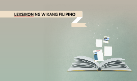 Leksikon ng Wikang Filipino