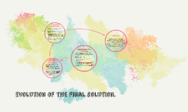 evolution of the final solution.