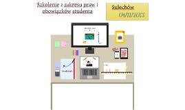 Zielona Góra Szkolenie dla Samorządów z Zakresu Praw i Obowiązków Studentów v.2