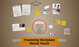 Promoting Workplace Mental Health