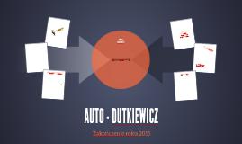 AUTO - DUTKIEWICZ JACEK DUTKIEWICZ -ROK 2015