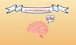 ARAZO EMOZIONALAK