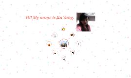Hi! My name is Jin Yang.