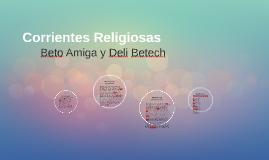 Corrientes Religiosas