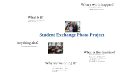 Student Exchange Photo Project