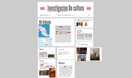 Investigacion De cultura