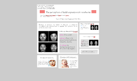 The perception of facial expressions in newborns