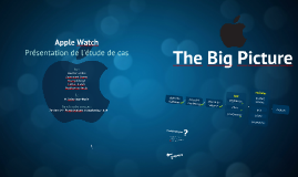 Apple Watch - Présentation de l'étude de cas - MKG