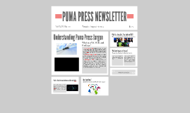 PUMA PRESS NEWSLETTER