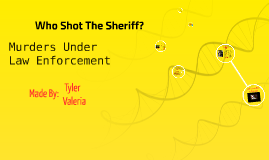 Who Shoot The Sheriff
