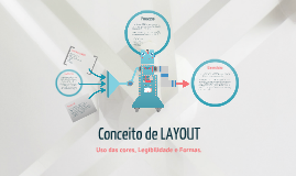 Conceito de Layout (Cores, Legibilidade e formas)