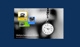 Multiple Intelligences Project