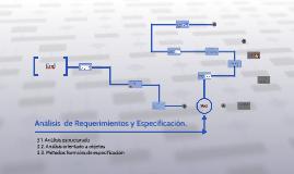 Analisis  de Requerimientos y Especificacion.