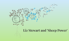 Liz Stewart and 'Sheep Power'