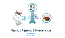 Copy of Kasano ti Agaramid ti Banana Lumpia