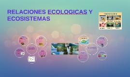 Copy of RELACIONES ECOLOGICAS Y ECOSISTEMAS