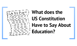 Education and the US Constitution