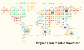 Virginia Farm-to-Table Movement
