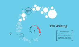 TIC Writing and Answering in Complete Sentences