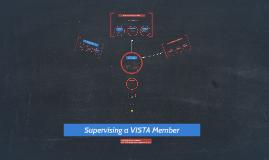 New VISTA Site Supervisor