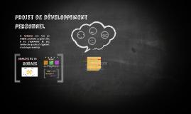 Projet de développement personnel