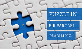 Anti bullying international project Piece of the puzzle