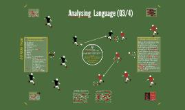Analysing  Language (Q4)