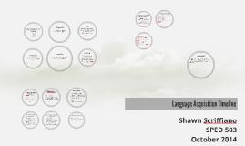 Language Acqusition Timeline
