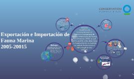Exportación e Importación de