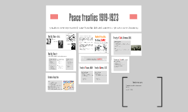 Copy of Peace treaties 1919-1923