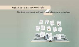 Copy of Diseño de pruebas de auditoria de cumplimiento y sustantivas