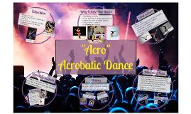Copy of Acrobatic Dance