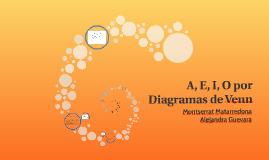 A, E, I, O por Diagramas de Venn