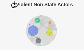 Copy of Violent Non State Actors