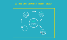 20. School Sports Attributing to Education - Group 14