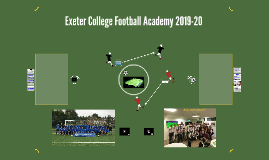Exeter College Football Academy 2018-19
