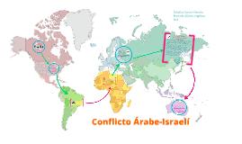 Conflicto Árabe Israelí