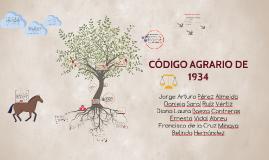 Copy of CÓDIGO AGRARIO DE 1934